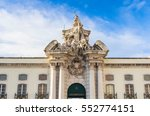 the military museum in lisbon ... | Shutterstock . vector #552774151