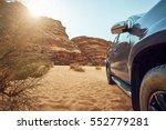 Great Big Car On Desert...