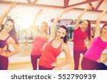 fitness  sport  training  gym... | Shutterstock . vector #552790939