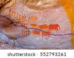 Red Rock Art Painting Of...