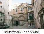 Ancient Street Of Jerusalem Ol...