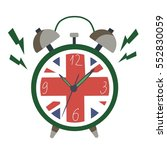 english clock | Shutterstock .eps vector #552830059