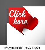 'click here' text uncovered... | Shutterstock .eps vector #552845395