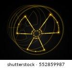 Radioactive Symbol. Vector...