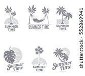 set of black and white ...   Shutterstock .eps vector #552869941