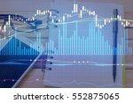 charts of financial instruments ...   Shutterstock . vector #552875065