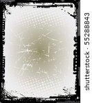 grunge vector frame | Shutterstock .eps vector #55288843