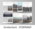 business templates for tri fold ... | Shutterstock .eps vector #552890869