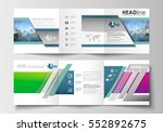 set of business templates for... | Shutterstock .eps vector #552892675
