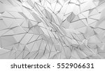 abstract polygonal triangle... | Shutterstock . vector #552906631