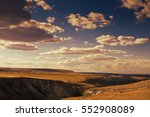 boundless open spaces of the... | Shutterstock . vector #552908089