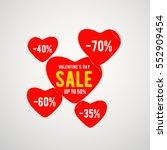 vector illustration of real red ... | Shutterstock .eps vector #552909454