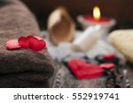 wellness decoration  valentine... | Shutterstock . vector #552919741