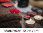 wellness decoration  valentine...   Shutterstock . vector #552919774