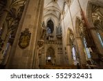 ulm  germany   7 january  view... | Shutterstock . vector #552932431
