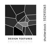 abstract voronoi design... | Shutterstock .eps vector #552935365