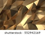 elegant luxury abstract golden... | Shutterstock . vector #552942169