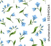 vector seamless pattern with... | Shutterstock .eps vector #552949264