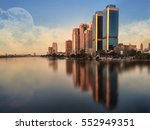 Cairo Skyline Egypt   Nile...