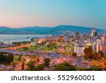 izmir at dusk   view from... | Shutterstock . vector #552960001