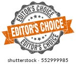 editor's choice. stamp. sticker.... | Shutterstock .eps vector #552999985
