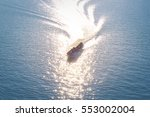 tourist boats cruise the river... | Shutterstock . vector #553002004