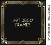 vintage retro style invitation  ... | Shutterstock .eps vector #553036831