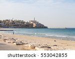 view of the ancient arab city...   Shutterstock . vector #553042855