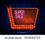 vector illustration of super... | Shutterstock .eps vector #553054729