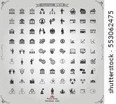 Vector Business icon | Shutterstock vector #553062475