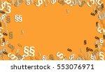 frame of many paragraphs on... | Shutterstock . vector #553076971