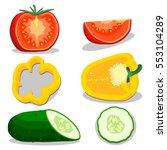 vector illustration logo for... | Shutterstock .eps vector #553104289