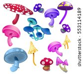 A Set Of Toadstools And...