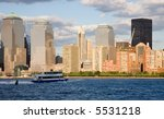 Waterway Taxi On The Hudson...