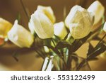 White Artificial Flowers...