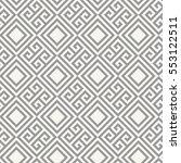 stylized ancient greek... | Shutterstock .eps vector #553122511