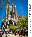 Sagrada Familia Is Located On...