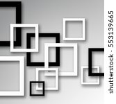 modern design background with... | Shutterstock . vector #553139665