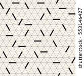 vector seamless pattern. modern ... | Shutterstock .eps vector #553146427