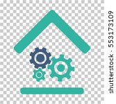 workshop icon. vector pictogram ... | Shutterstock .eps vector #553173109