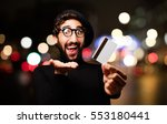 young french artist with credit ... | Shutterstock . vector #553180441