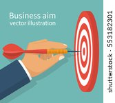 business achievement  success... | Shutterstock .eps vector #553182301