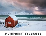 a typical house of the... | Shutterstock . vector #553183651