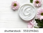 cosmetic cream container and... | Shutterstock . vector #553194361