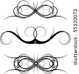 vector design elements | Shutterstock .eps vector #55320073