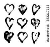 brush stroke sketch drawing of... | Shutterstock .eps vector #553217335