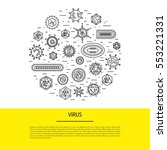 vector illustration of cells of ...   Shutterstock .eps vector #553221331