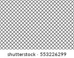 wire mesh line pattern in... | Shutterstock .eps vector #553226299