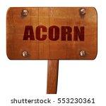 acorn  3d rendering  text on...