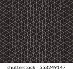 seamless linear pattern with... | Shutterstock .eps vector #553249147